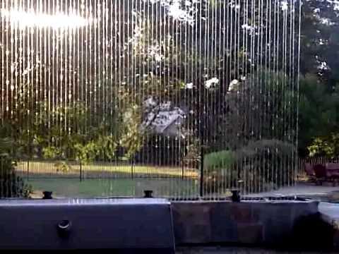 Outdoor Project Rain Wall Youtube