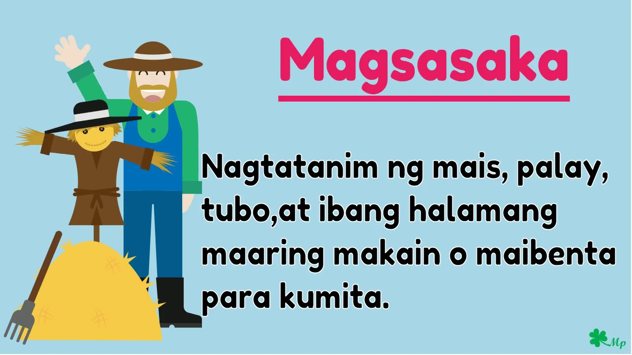 small resolution of Hanapbuhay sa komunidad - YouTube