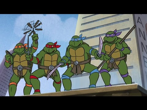 Смотреть мультфильм teenage mutant ninja turtles