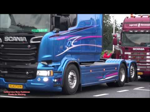 SCANIA R560 V8 Longline Vlastuin Trading - Terugkomst uit Assen | Truckstar Festival 2015