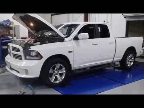 Ram 1500 hits the dyno at Peitz Performance Tunes.