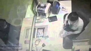 Ограбление Сбербанка в Ростове-на-Дону. [02.02.2016] видео2 #весьростов