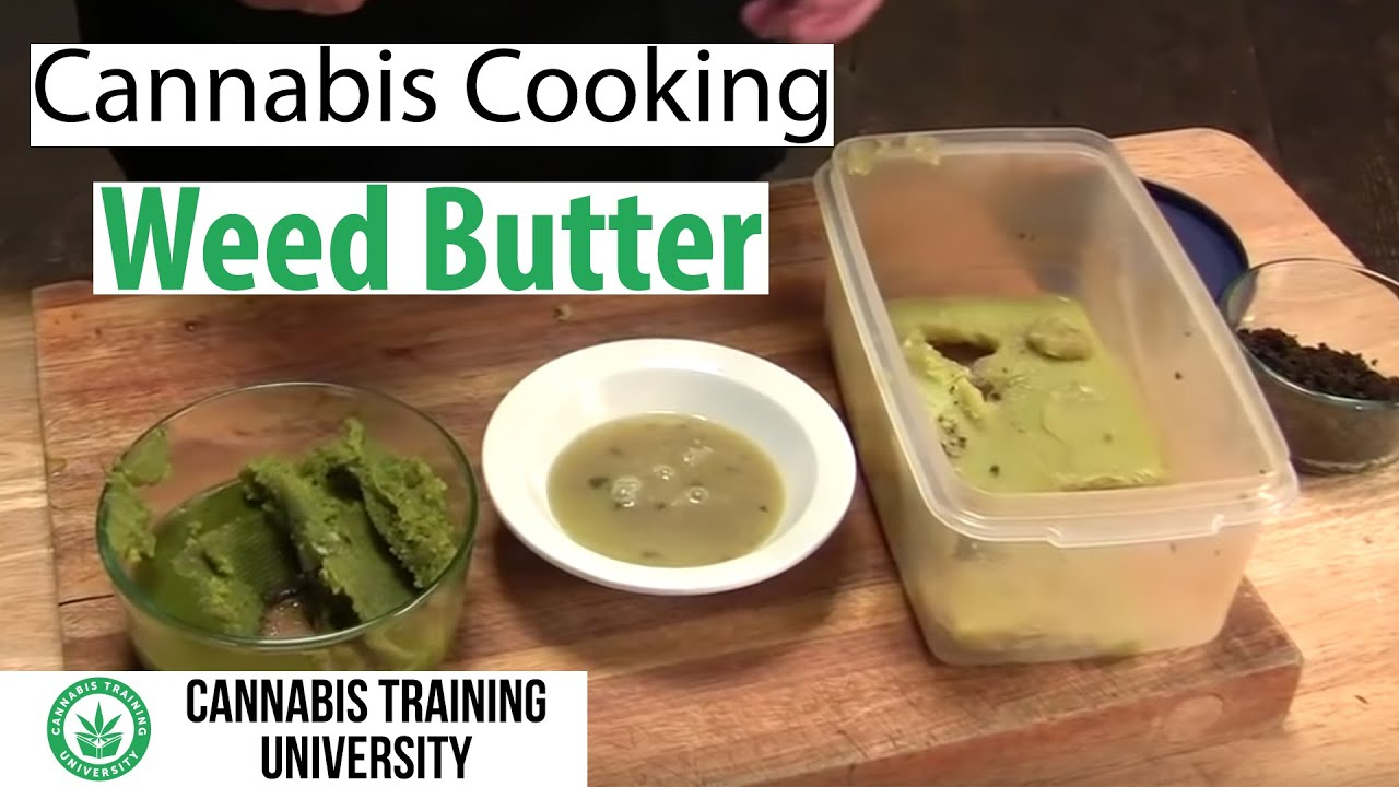 HOW TO MAKE WEED BUTTER! SECRET TIPS! CANNABIS BUTTER