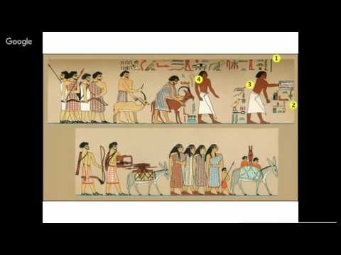 """Divine Words Wednesday """"Tomb of Khnumhotep II"""""""