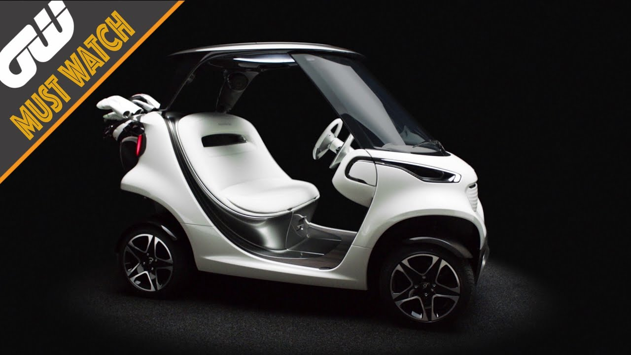 Golf introducing the mercedes benz style edition garia for How much is the mercedes benz golf cart