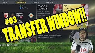 FIFA 15 CAREER MODE - TRANSFER WINDOW LET'S GET STARTED
