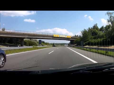 Driving from Prague to Bratislava , by motorways / highways