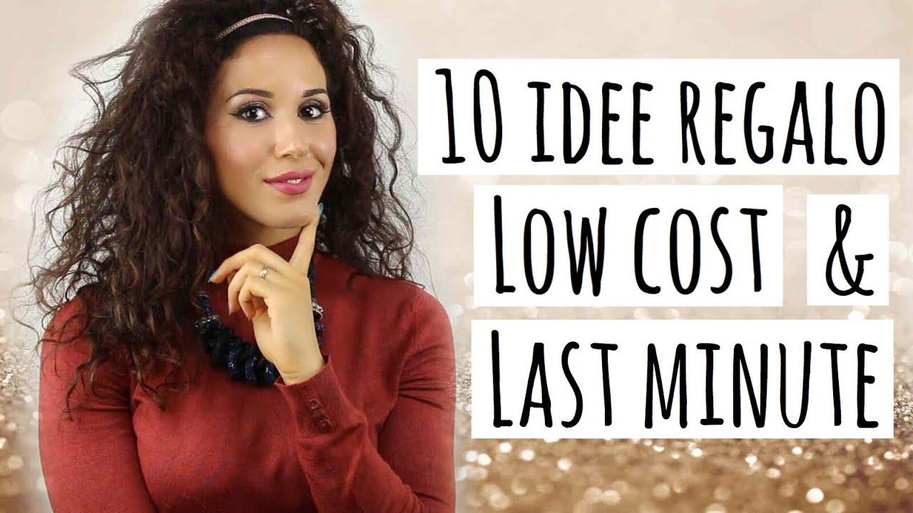 10 Regali di Natale LOW COST e LAST MINUTE - YouTube