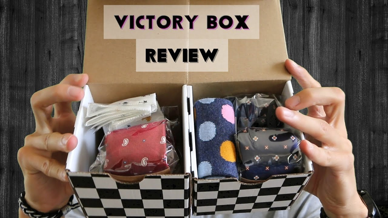 Download Victory Box Review - Double Men's Monthly Subscription Box
