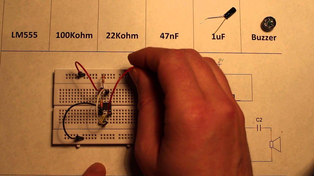 Telephone Ringtone Generator Circuit