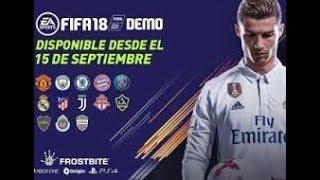 DIRECTO  ESPERANDO PARA LA DEMO FIFA 18! !! !!!