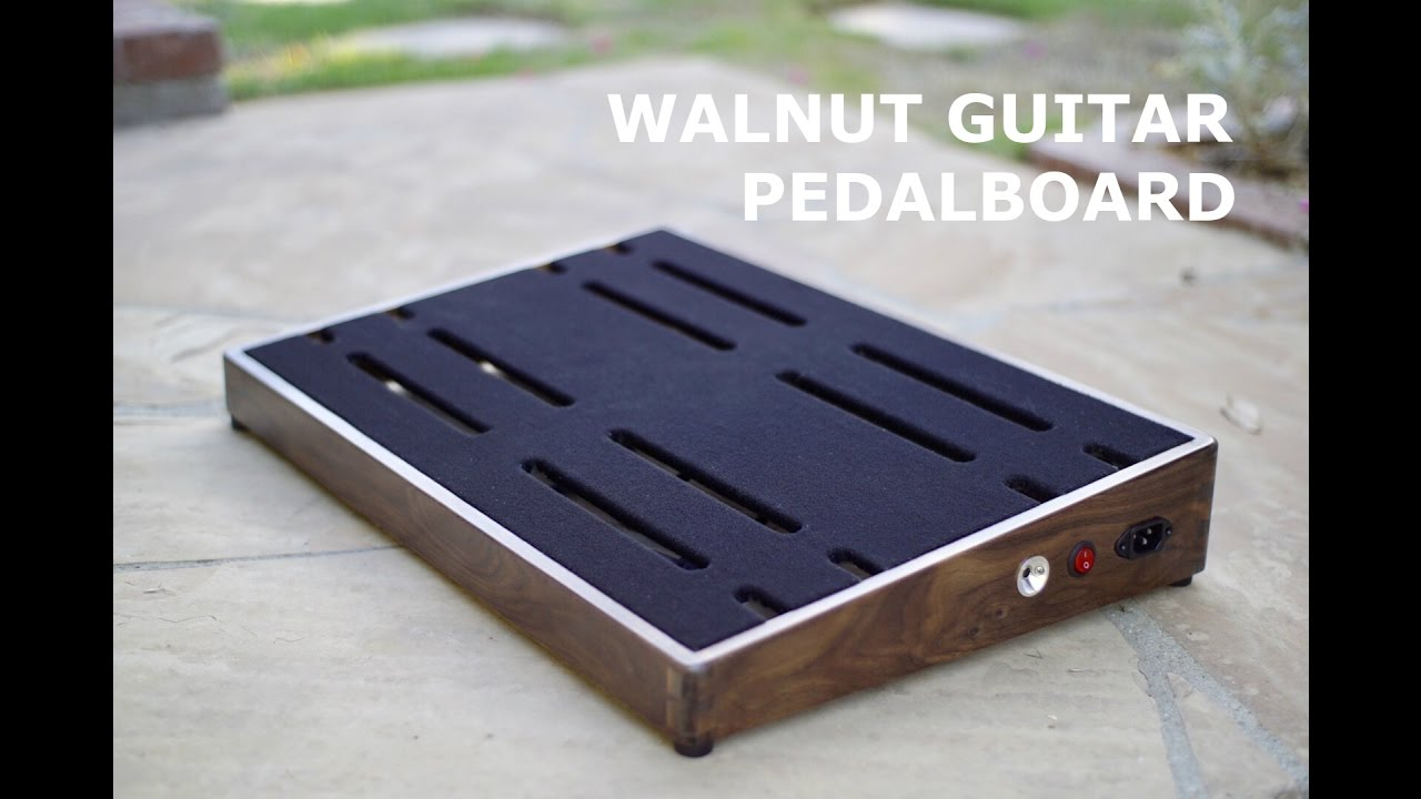 Building A Guitar Pedalboard Youtube