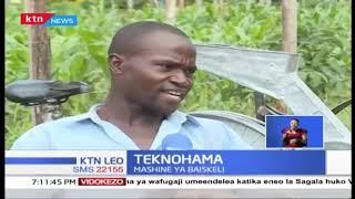 Mashine ya baiskeli yabuniwa ya kusaga mahindi mjini Busia | Teknohama