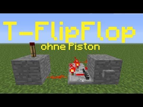 Minecraft-Tutorial: T-FlipFlop (ohne Piston) (PMT062) [DE] [HD]
