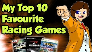 My Top 10 Favourite Racing Games - valeforXD