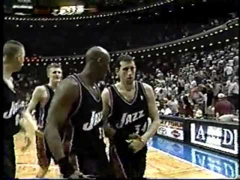 Karl Malone 40 points at age 39 at Magic - 3/12/2003 (Highlights)
