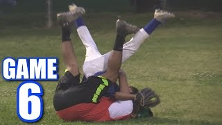 DIVING AS A BACKUP NEVER FAILS! | On-Season Softball League | Game 6