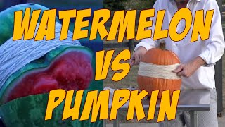 watermelon vs pumpkin