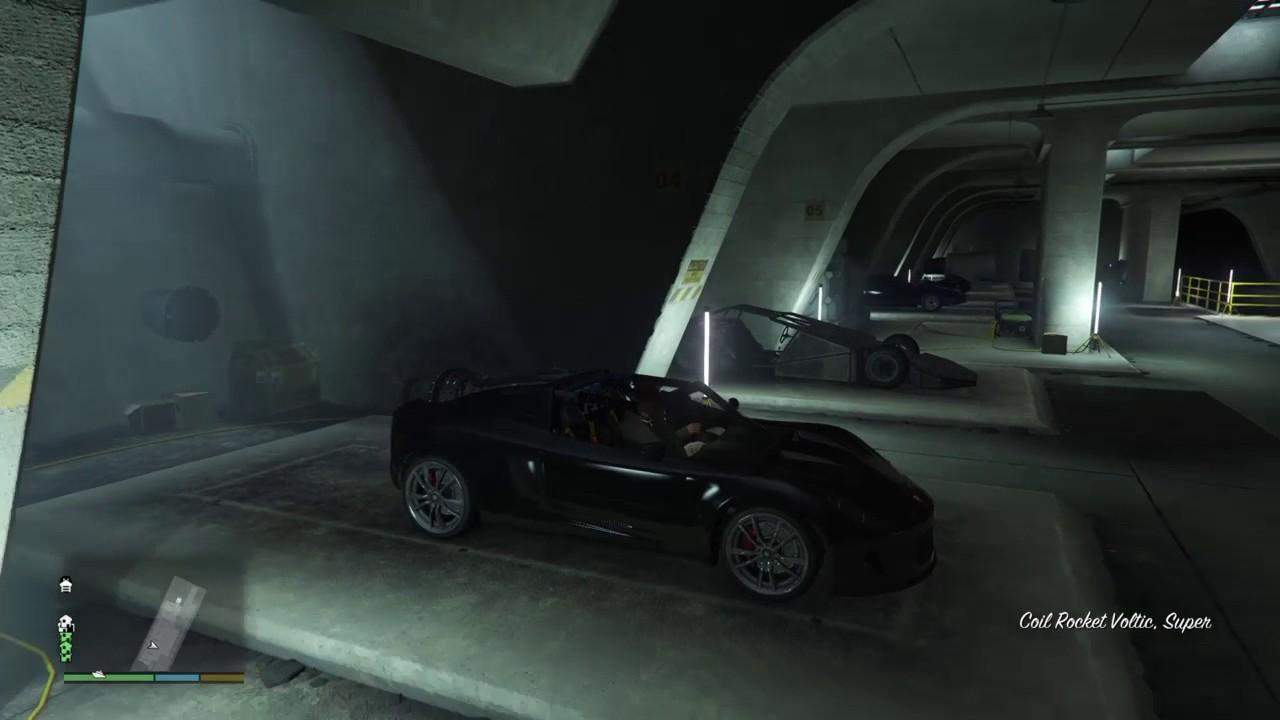 gta v special vehicles warehouse