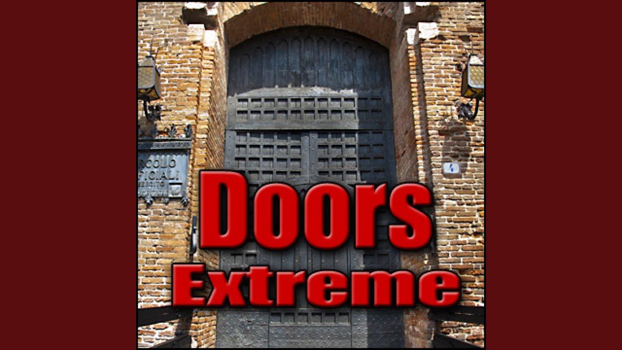 Bon Door, Metal   Large Heavy Metal Storage Container Door: Open Or Close, Metal  Doors U0026 Gates,.