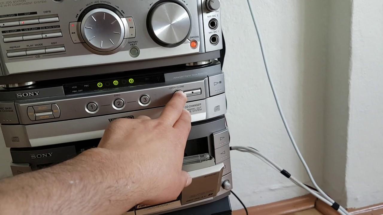 MHC -VX700AV SONY look into..içine bakmak - YouTube
