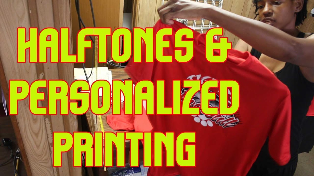 3f272da6 Screen Printing Halftones - YouTube