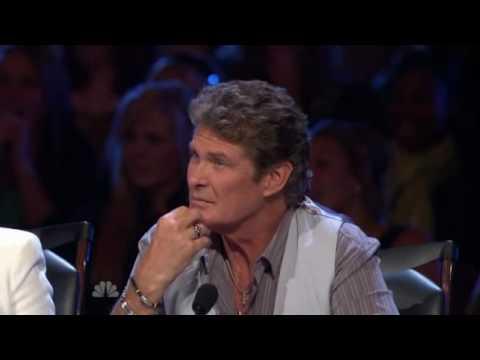 Americas got talent David Johnson (Hasselhoff song)