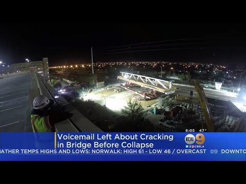 Engineer Left Voicemail About 'Cracking' In Florida Bridge 2 Day Before Collapse