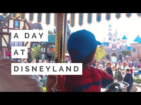 VLOG: A Day at Disneyland