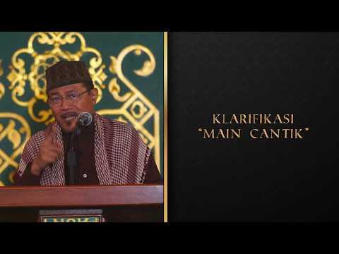 """KLARIFIKASI """"MAIN CANTIK"""" : Kyai Prof Dr H Ahmad Zahro MA Al-Chafidz"""