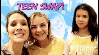 TEEN SWAP! We traded Klai for KESLEY LEROY for 24 hours!