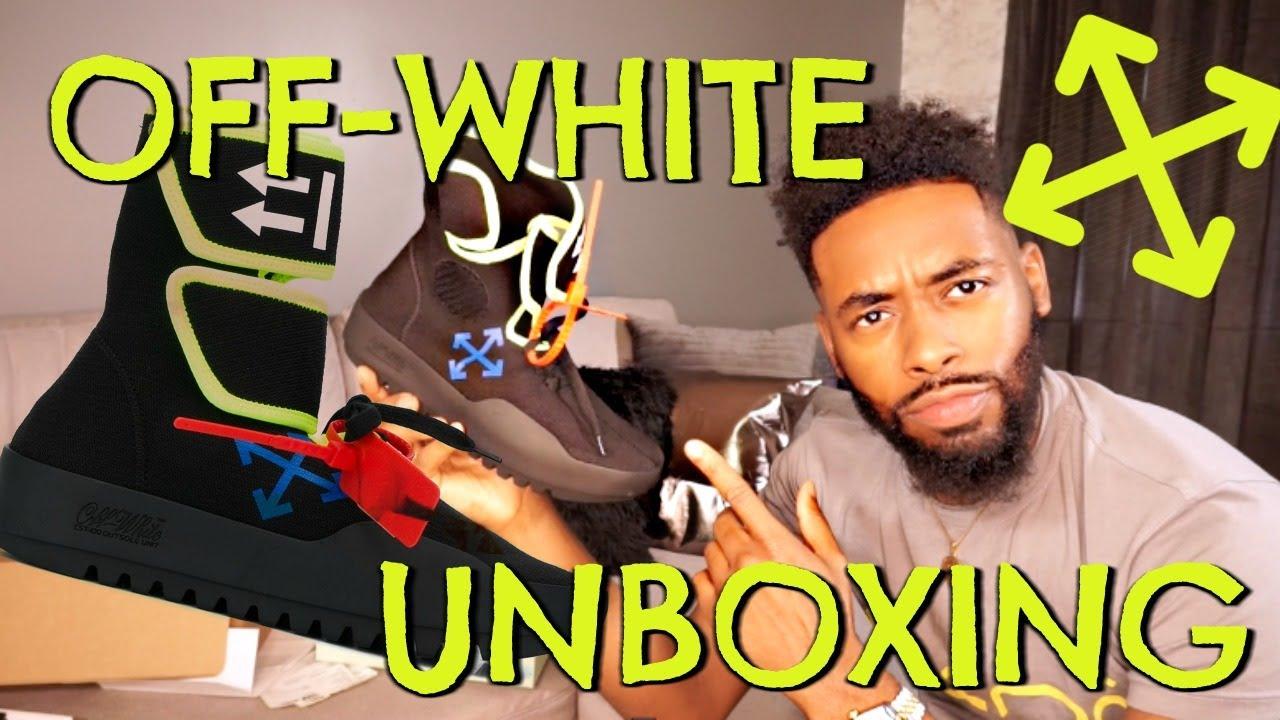 Off-White Moto Wrap Sneaker Unboxing