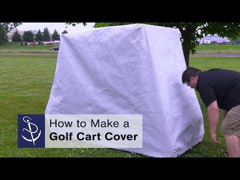 How to Make a Golf Cart Cover