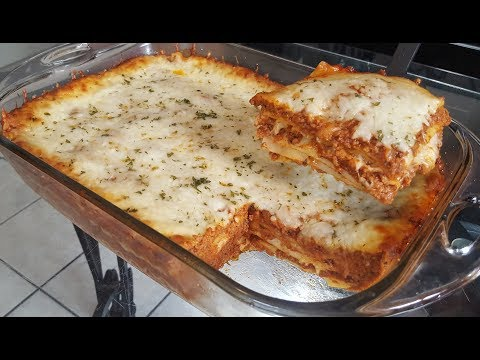 How to make Lasagna from scratch