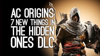7 New Things the Hidden Ones DLC Brings to Assassins Creed Origins