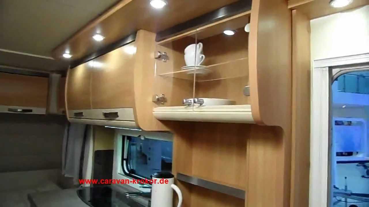 KNAUS Südwind 420 QD Mod. 2013 Camping Wohnwagen - YouTube