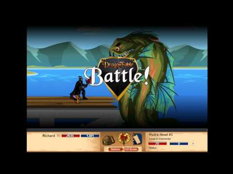 Dragon Fable Road to Chp 3 Falconreach