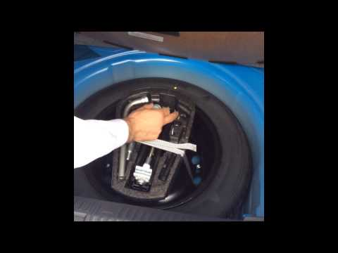 How to... Locate your locking wheel nut on your Volkswagen.
