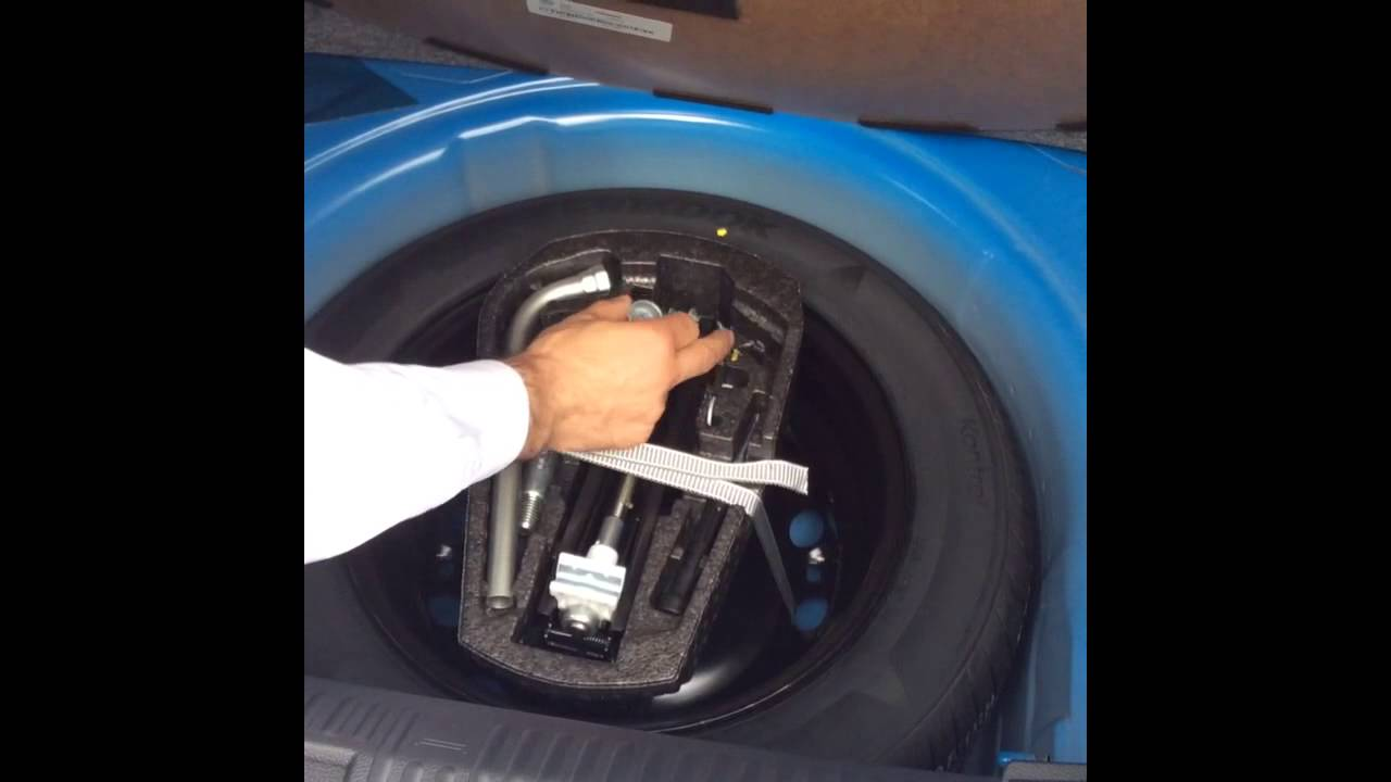 How to... Locate your locking wheel nut on your Volkswagen. - YouTube