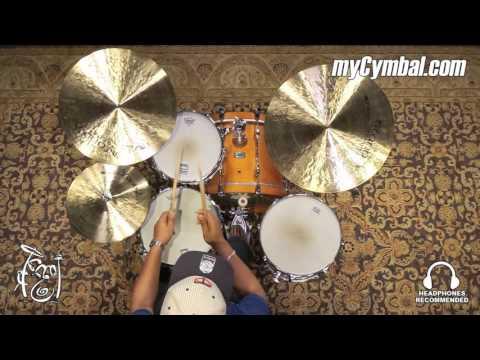 Istanbul Agop Signature Mel Lewis Cymbal Set (SET-1080316AA)