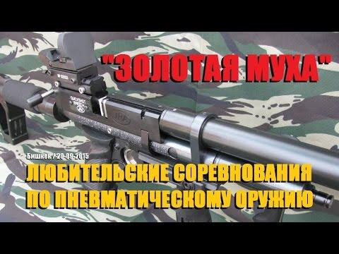 Золотая Муха турнир по пневматике, г.Бишкек