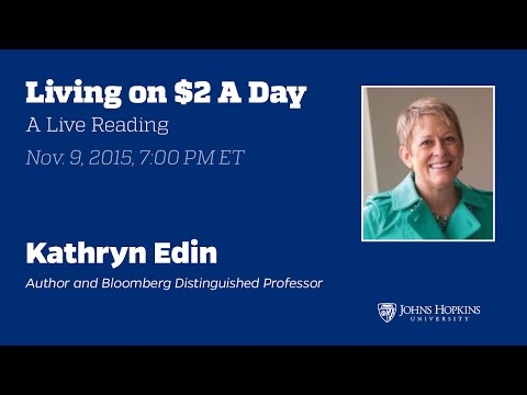 Kathryn Edin: $2.00 a Day: Living on Almost Nothing in America