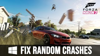 Forza Horizon 3 - Fix Windows 10 Random Game Crashes [Loud Recording - SORRY]