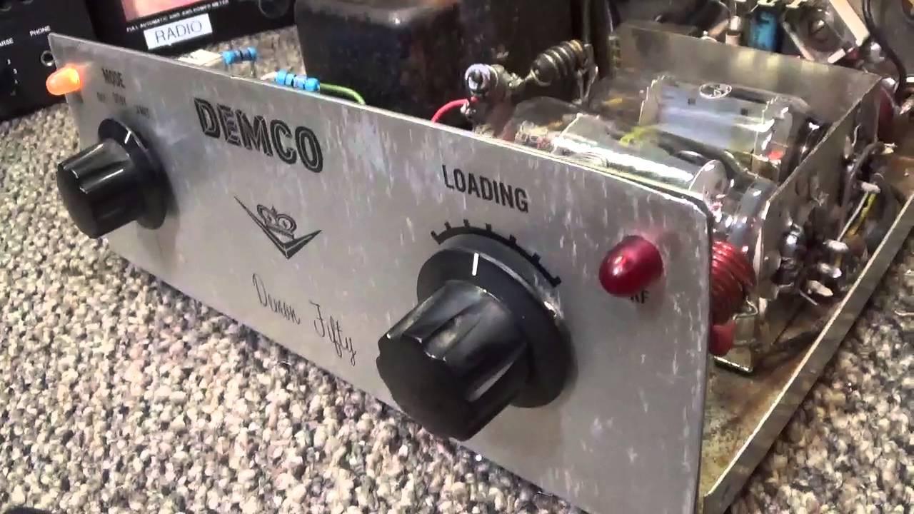 Demco Demon 50 Base Tube 10 Meter Linear Amplifier