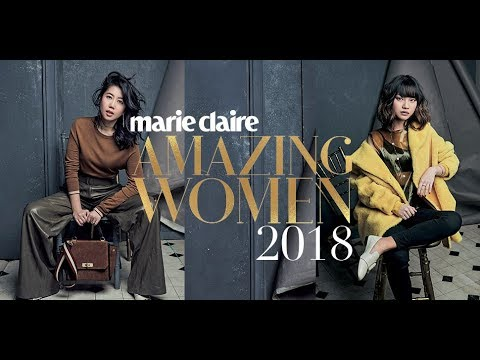 Marie Claire Amazing Women 2018 Fitting Session