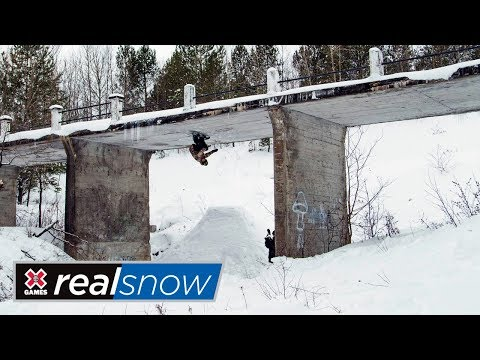Frank Bourgeois: Real Snow 2018 | X Games