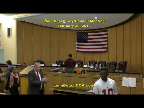 Long Beach NY City Council Meeting 02/20/18