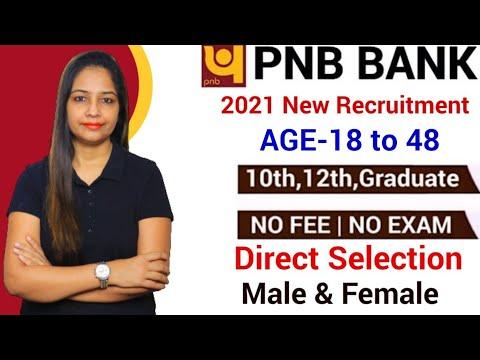 PNB Bank Recruitment 2021   PNB Recruitment 2021   Govt Jobs Aug 2021   Govt Jobs In Aug 2021