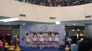 161127 Gfriend - Rough Dance Cover by G - Pearl on Blu Plaza Bekasi