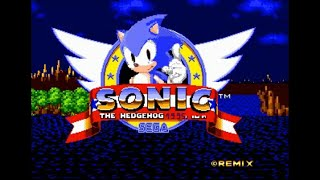 Sonic Hack Walkthrough - Sonic The Hedgehog 1995 New Version